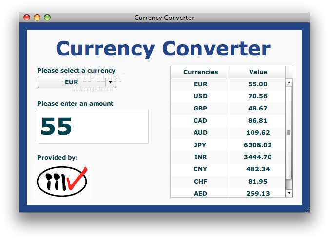 Foreign exchange conversion